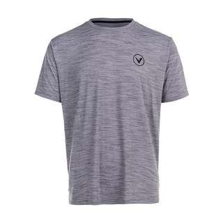 Virtus JOKER M S/S Tee Printshirt Herren 1038 Mid Grey Melange