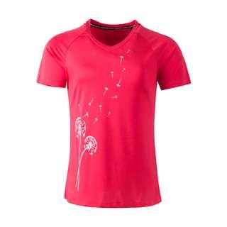 Endurance Plina W S/S Tee Printshirt Damen 4195 Paradise Pink