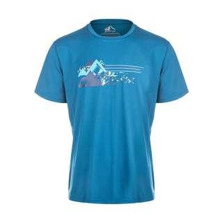 Whistler GENE M printed Tee Printshirt Herren 2119 Blue Coral