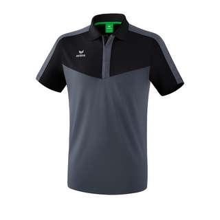 Erima Squad Poloshirt Poloshirt schwarzgrau