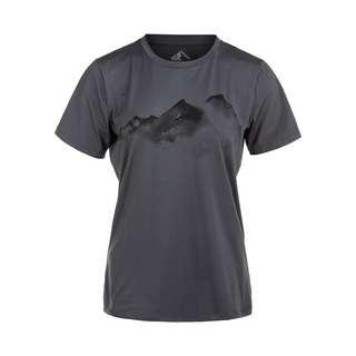 Whistler ELISE W o-neck Printed Printshirt Damen 1051 Asphalt