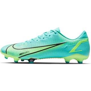 Nike Mercurial VAPOR 14 ACADEMY FG/MG Fußballschuhe dynamic turq-lime glow