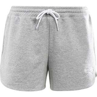 Reebok Small Logo Shorts Damen medium grey heather