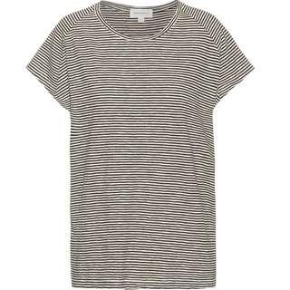 ARMEDANGELS Ofeliaa Pretty T-Shirt Damen black-oatmilk