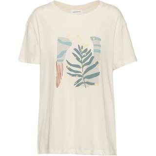 ARMEDANGELS Nelaa Grafic Leaf T-Shirt Damen undyed