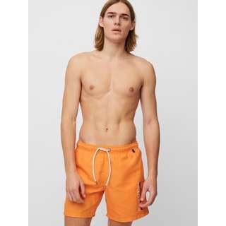 Marc O'Polo Badeshorts Beach Short Solids Badeshorts Herren orange
