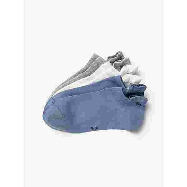 Marc O'Polo Sneakersocken 3-Pack Ida Füßlinge Damen jeans