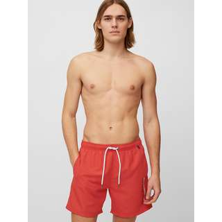 Marc O'Polo Badeshorts Beach Short Solids Badeshorts Herren chili red