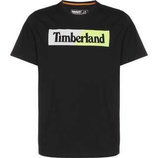 TIMBERLAND Sportswear T-Shirt Herren black safety