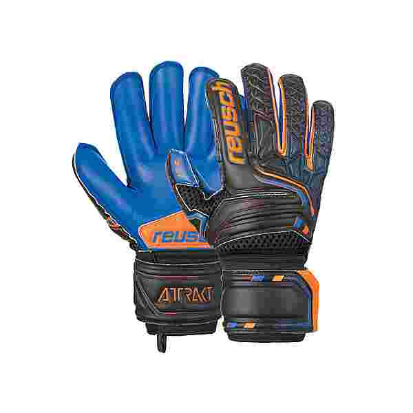 Reusch Attrakt S1 Roll Finger Junior Torwarthandschuhe blck/shock. orange/deep b