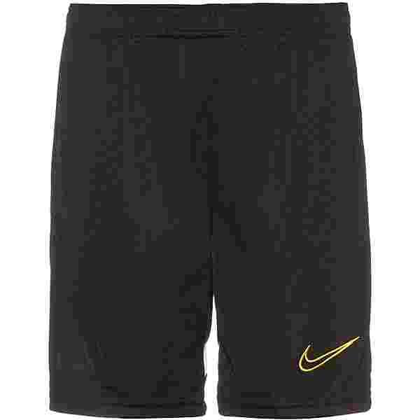 Nike Academy21 Funktionsshorts Kinder black-white-white-saturn gold