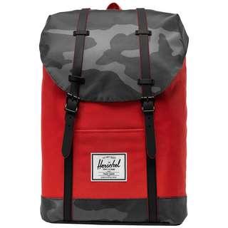 Herschel Rucksack Retreat Daypack Herren rot / dunkelgrau