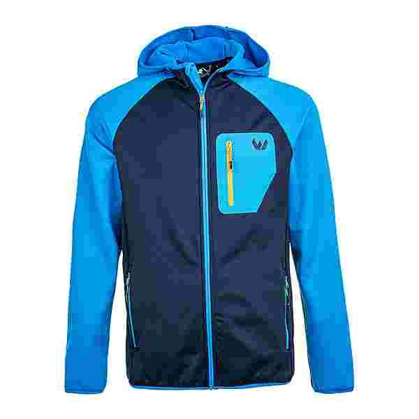 Whistler SALEN M Power Stretch Fleece Jacket Fleecejacke Herren 2062 Brilliant Blue