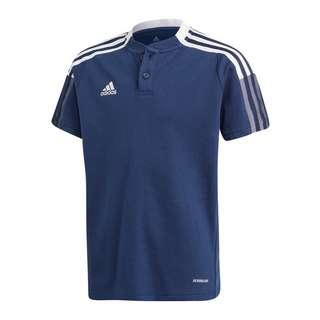 adidas Tiro 21 Poloshirt Kids Poloshirt Kinder blau