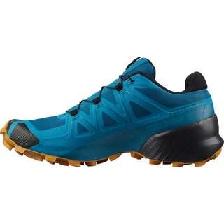 Salomon Speedcross 5 Trailrunning Schuhe Herren crystal teal-barrier reef-golden oa