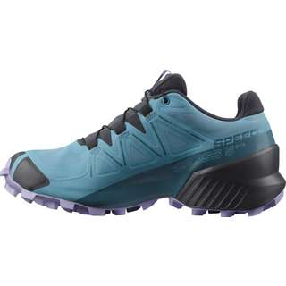 Salomon GTX Speedcross 5 Trailrunning Schuhe Damen delphinium blue-mallard blue-lavend