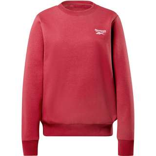 Reebok Small Logo Sweatshirt Damen punch berry