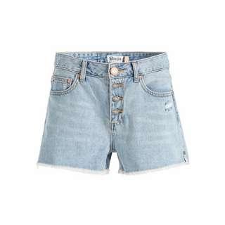 Khujo ANOUK Shorts Damen Hellblau gewaschen