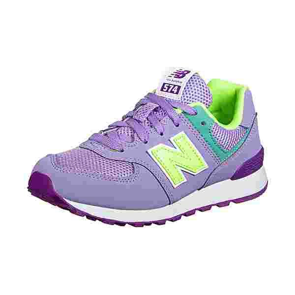 NEW BALANCE 574 Sneaker Kinder lila