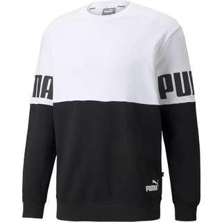PUMA Power Sweatshirt Herren puma white