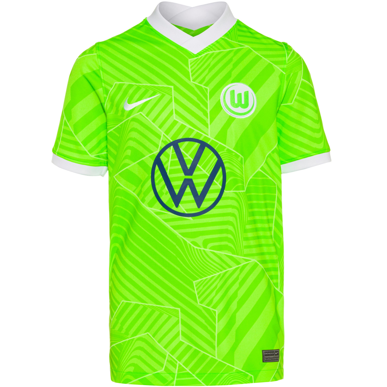Nike VFL Wolfsburg 21-22 Heim Trikot Kinder