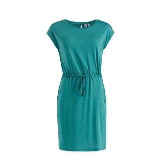 Khujo SAMMY Jerseykleid Damen Blaugrün