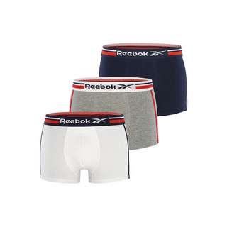 Reebok Boxershorts JAGER Boxer Herren Vector Navy/Grey Marl/White