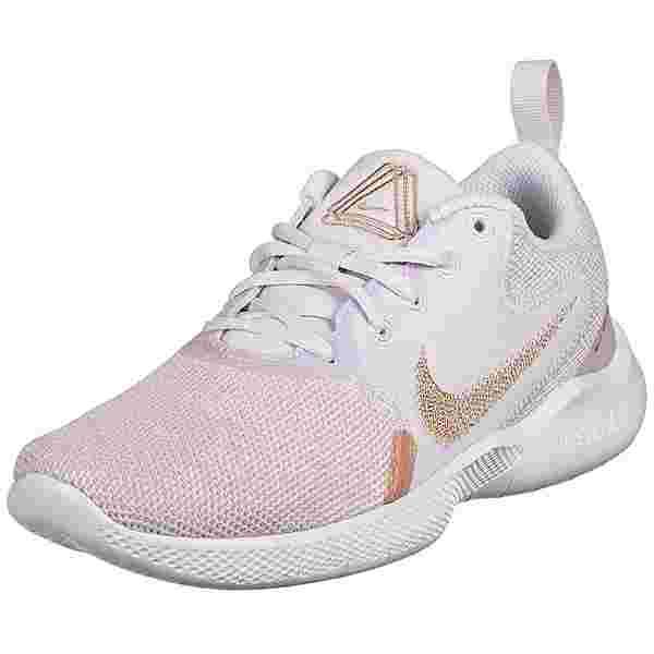Nike Flex Experience Run 10 Laufschuhe Damen beige / rosé gold