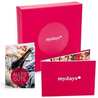 mydays 50 € Geschenkbox rot