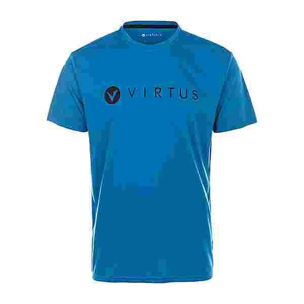 Virtus EDWARDO M S/S Logo Tee Printshirt Herren 2145 Blue Sapphire