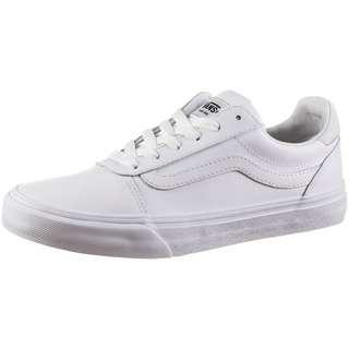 Vans Ward Deluxe Sneaker Damen white-white