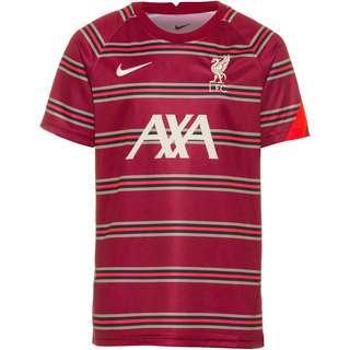 Nike FC Liverpool Funktionsshirt Kinder team red-bright crimson-fossil