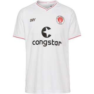Di!Y FC St. Pauli 21-22 Auswärts Trikot Herren weiss