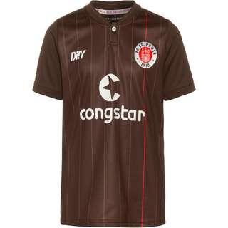 Di!Y FC St. Pauli 21-22 Heim Trikot Kinder braun