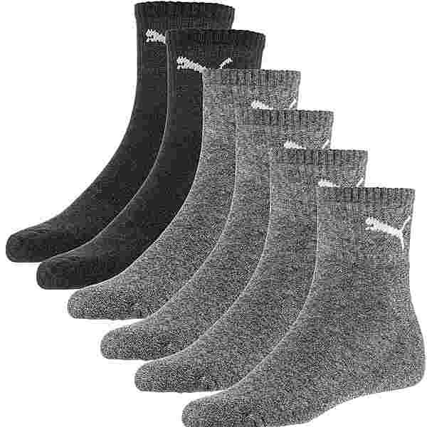 PUMA Short Crew 6er Pack Socken Pack grey combo