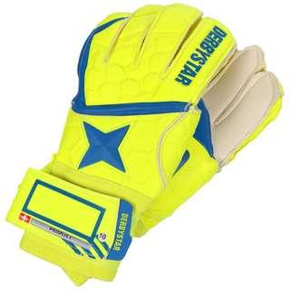 Derbystar Primus I Torwarthandschuhe gelb / blau