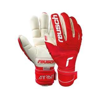 Reusch Attrakt Freegel Gold X Finger Support Torwarthandschuhe red / white