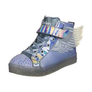 Skechers Shuffle Brights Sparkle Wings Sneaker Kinder hellblau / bunt