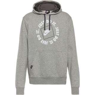 Nike NSW JDI Hoodie Herren dark grey heather-iron grey