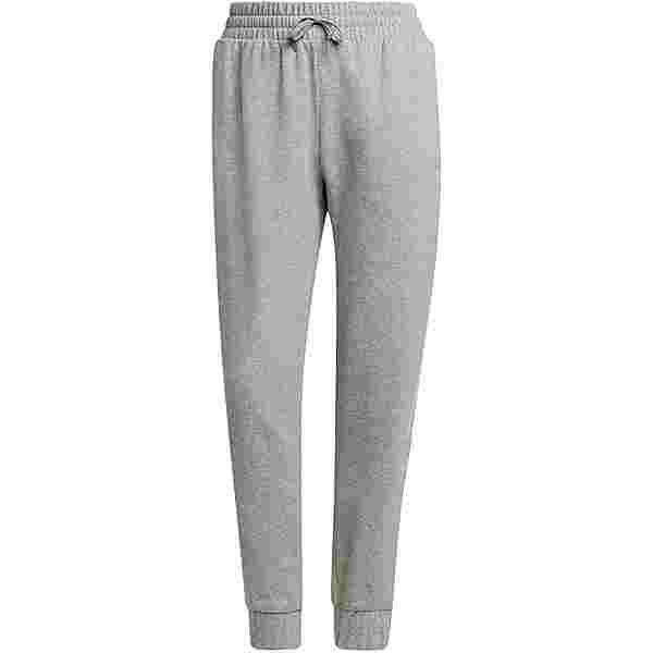 adidas SPORT ESSENTIALS Sweathose Damen medium grey heather-mgh solid grey