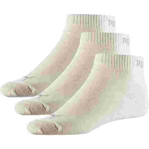 PUMA Quarter Socken Pack oatmeal