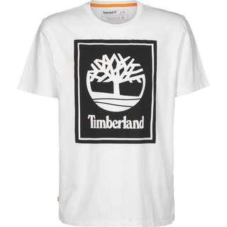 TIMBERLAND YC SS Stack Logo T-Shirt Herren weiß