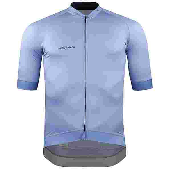 PERCY MASH Fast&Gentle line Jersey Trikot Herren Blau