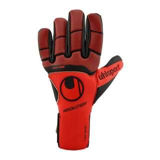 Uhlsport Pure Force Absolutgrip HN TW-Handschuh Torwarthandschuhe Herren rotschwarzweiss