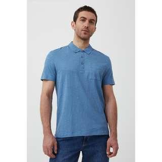 Finn Flare Poloshirt Herren light blue