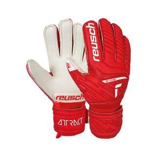 Reusch Reusch Attrakt Silver Junior Torwarthandschuhe red / white