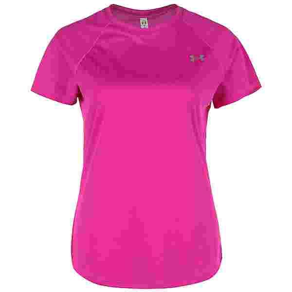 Under Armour Speed Stride Laufshirt Damen pink