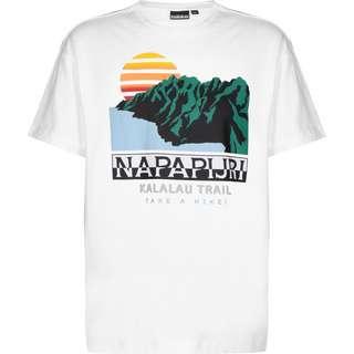 Napapijri S-Alhoa T-Shirt Herren weiß