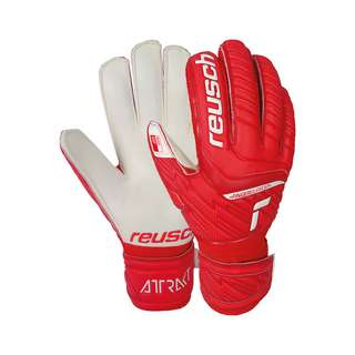 Reusch Attrakt Grip Finger Support Torwarthandschuhe red / white