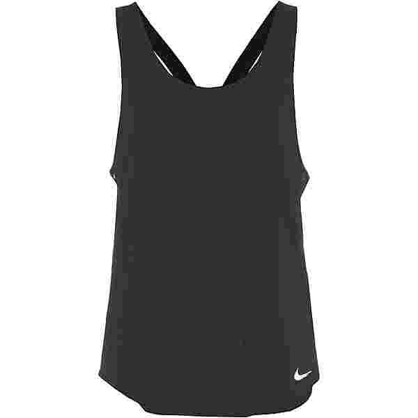 Nike Breathe Cool Funktionstank Damen black-reflective silv
